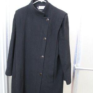 Vintage Ashley Scott Wool 3/4 Length Coat